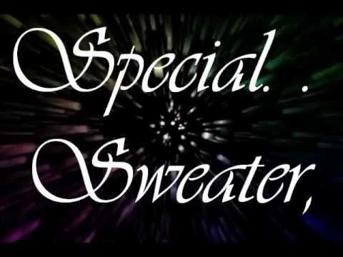 Striped Sweater-SpongeBob SquarePants-LYRICS