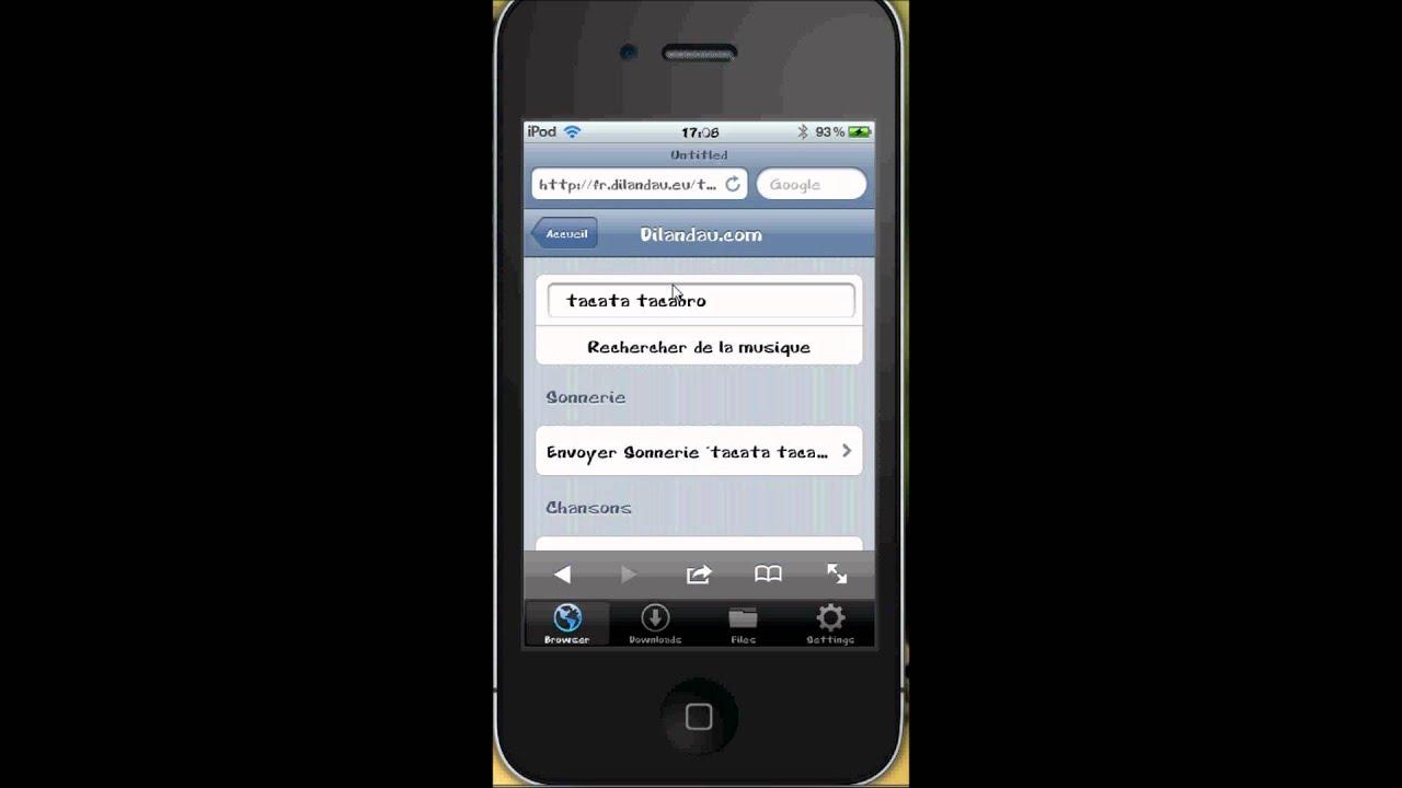 des musique sur dilandau avec un iphone