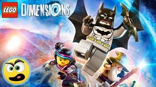 Lego Dimensions Parte 1 - A Aventura Começou [ PS4 ] ( PT-BR ) Caraca Games