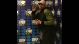 Chris Brown dancing  Spanish music
