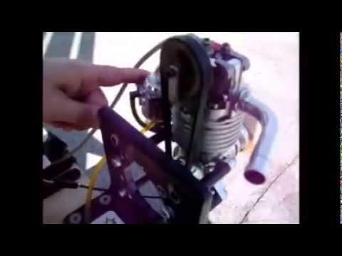 OHC38 gas engine