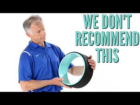 Why We Would NOT BUY a Yoga Wheel For Back Pain. Physical Therapist Opinion.