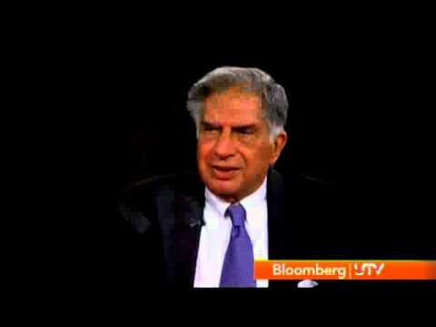BloombergUTV Exclusive: Interview With Ratan Tata, Chairman, Tata Sons