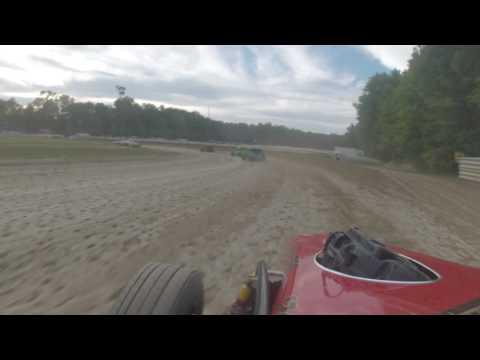 deerfield raceway dwarf car classics heat race 7-2-16