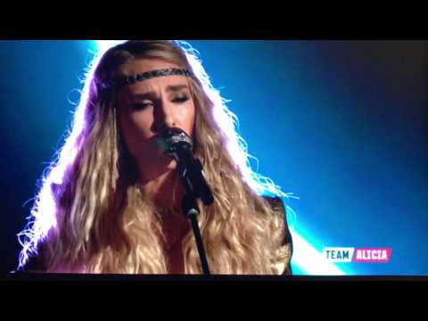 """Stephanie Rice - """"Behind Blue Eyes"""" / The Who - The Voice Season 12 / Top 11"""