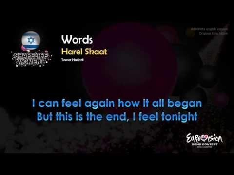 "Harel Skaat - ""Words"" (Israel) - English version of ""Milim"""