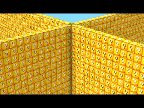 Minecraft 1v1v1v1 LUCKY BLOCK WALLS #3 (Minecraft Modded Minigame)