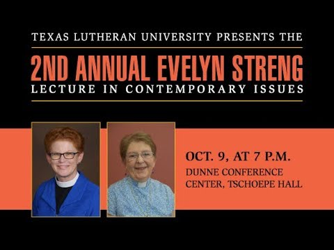 EVELYN STRENG LECTURE IN CONTEMPORARY ISSUES Leadership From The Margins