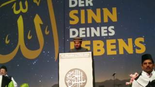 Nazam - Murtaza Manan - Concluding Session - National Ijtema Germany MKAD 2016