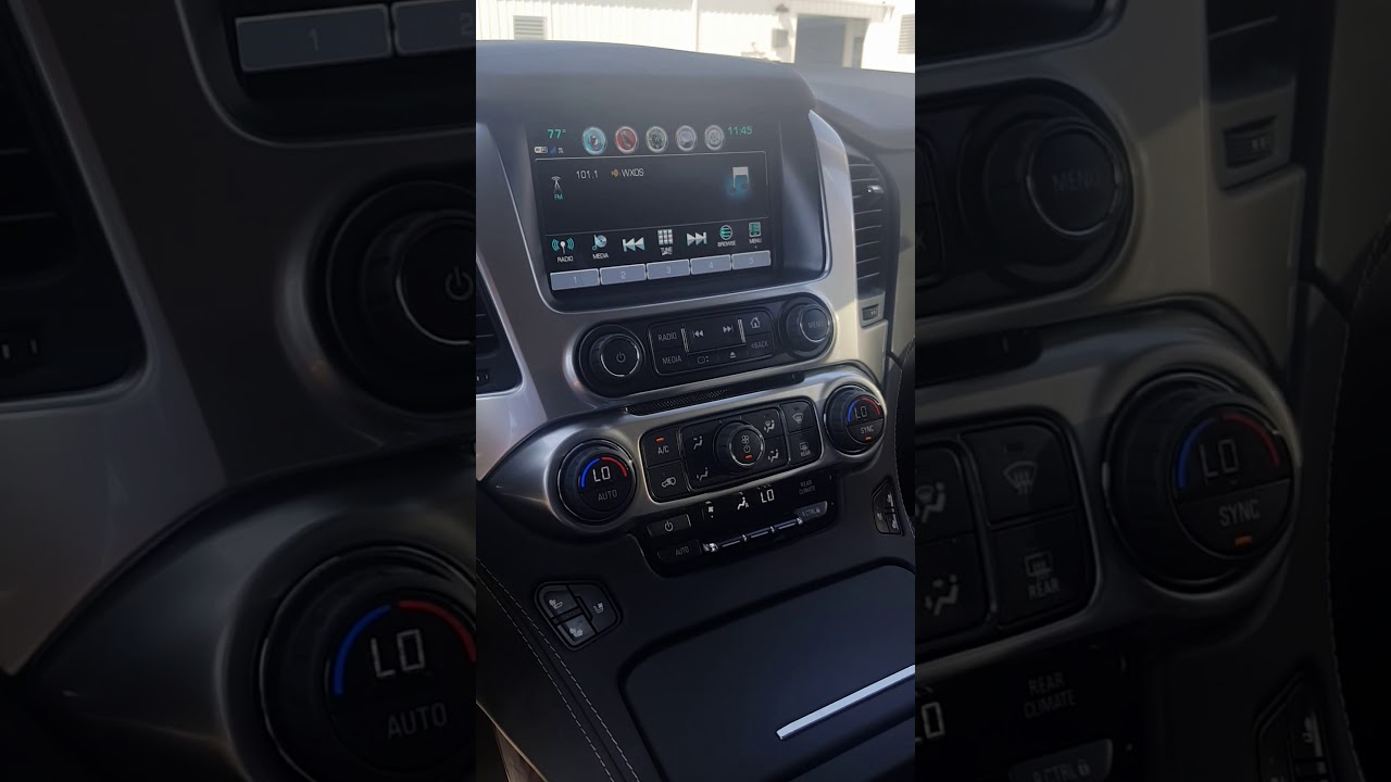 How to used the DVD player in a 2015-18 Tahoe or Suburban