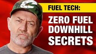 How much fuel does an engine burn driving downhill? | Auto Expert John Cadogan