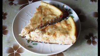 Пирог с кислой капустой в мультиварке