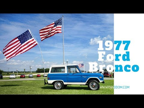 🚨 Classic Ford Bronco (1977) 🚨