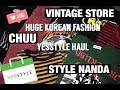 HUGE KOREAN FASHION HAUL | YESSTYLE, CHUU, STYLE NANDA, VINTAGE STORES (FR | ENG SUB CC IN PROGRESS)