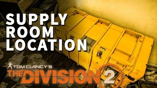 Download lagu Overgrowth Supply Room Location Division 2