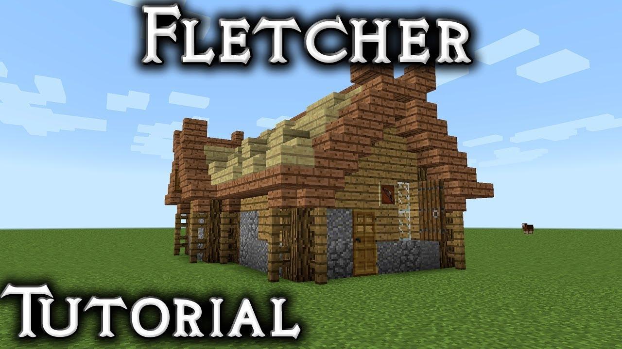 Minecraft: Rohan Fletcher/Archery Shop Tutorial (Vanilla)