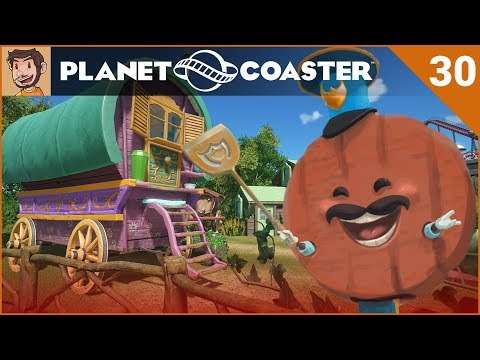 Let's Play Planet Coaster - Hard Mode - Part 30 | FANTASY RIDE