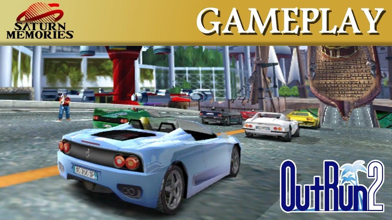 OutRun 2 [Xbox] by SEGA - Daytona USA 2 Challenge Course [HD] [1080p]