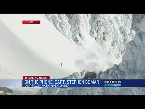Rescue of climbers on Mount Hood, part 1