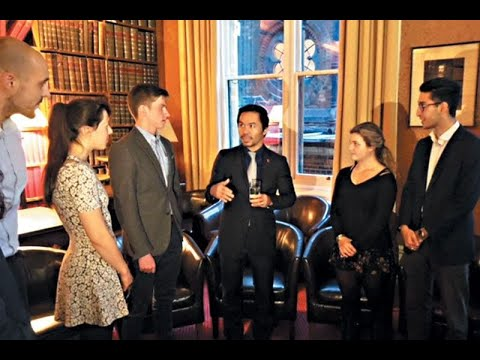 Manny Pacquiao scores a knockout at Oxford