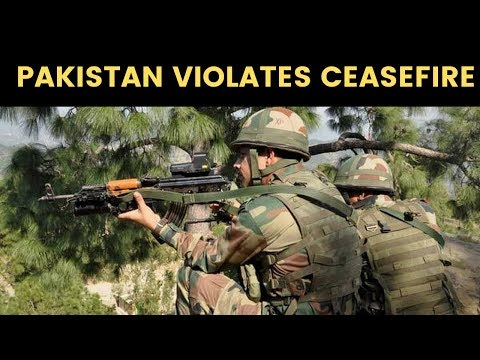 Pakistan violates ceasefire , 8-10 Pak soldiers killed; Indian army retaliates effectively