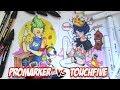 Сравнение маркеров PROMARKER и TOUCHFIVE  |  Рисуем иллюстрации маркерами