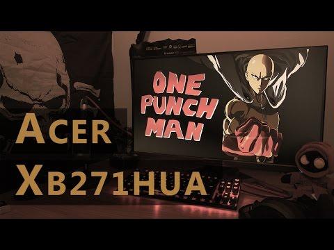 Acer XB271HUA Review: 165hz WQHD TN G-Sync gaming monitor