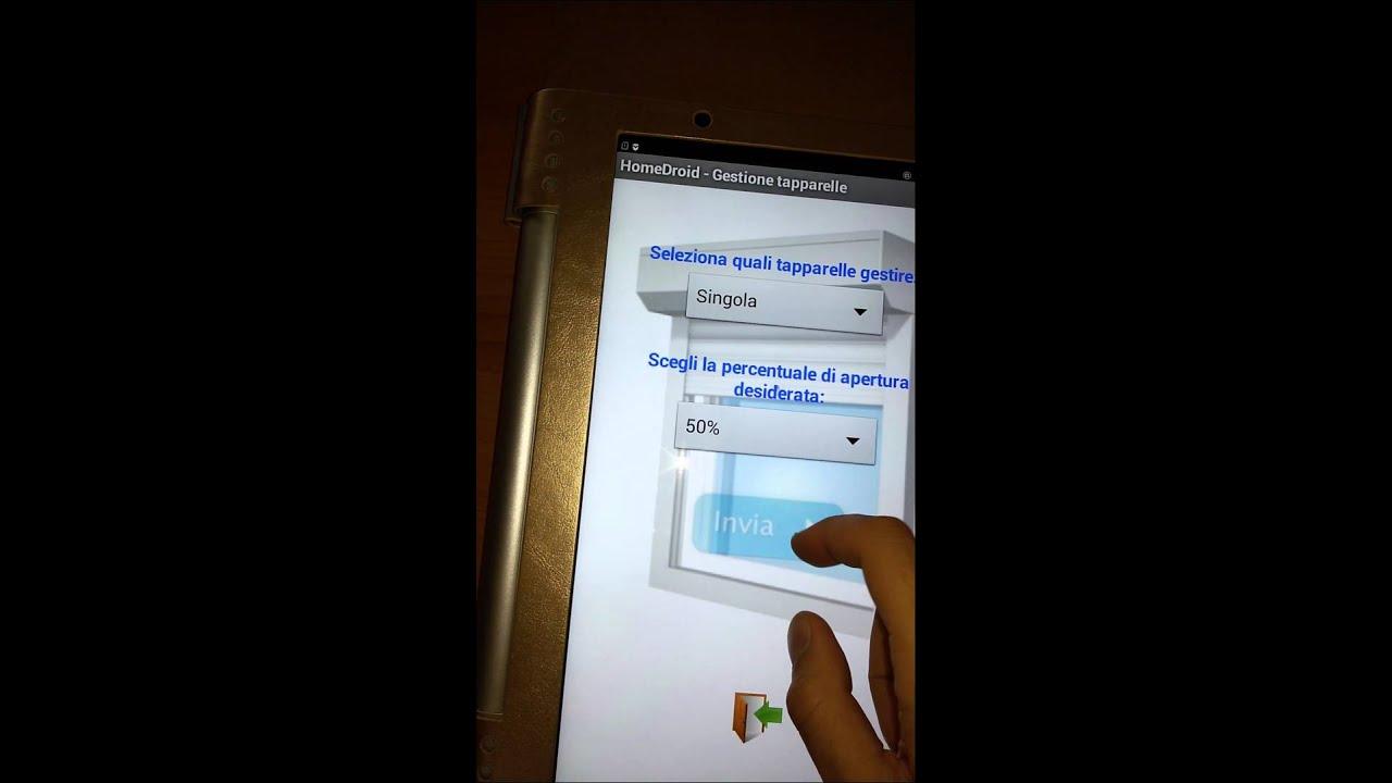 Controllo remoto tapparelle con arduino e android youtube