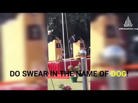 Watch Video: Tassaduq Mufti Took Oath And Made This Huge Blunder