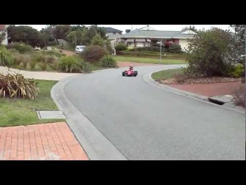 Electric Go Kart - Kids Tt Toys F1 Ferrari Modified - Stage 2 - Battery Upgrade - 48V