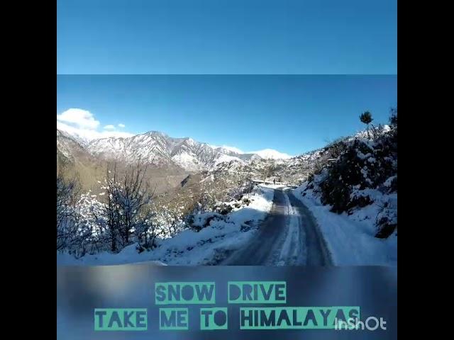 Snow Drive 2019 #takemetohimalayas #snow #gypsy