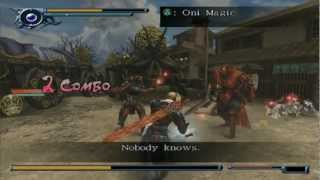 Onimusha Dawn of Dreams 1080p running on PCSX2 0.9.9 SVN wide screen