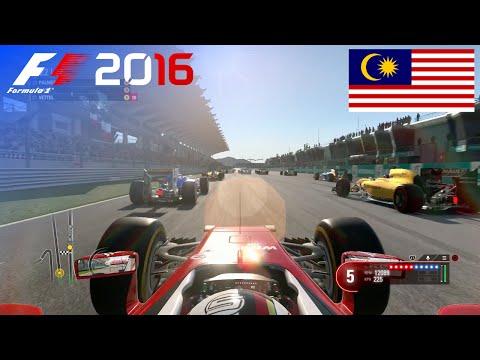 F1 2016 - 100% Race at Sepang International Circuit, Malaysia in Vettel's Ferrari