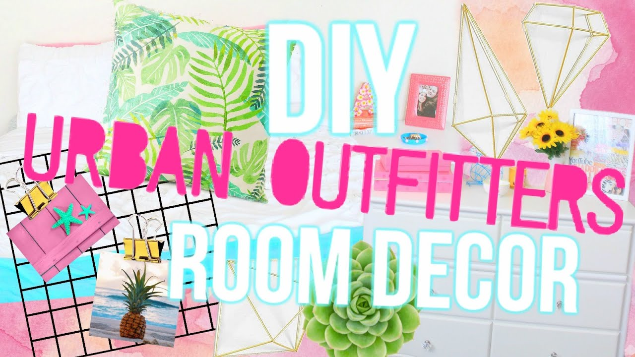 Diy Urban Outfitters Inspired Summer Room Decor Cheap