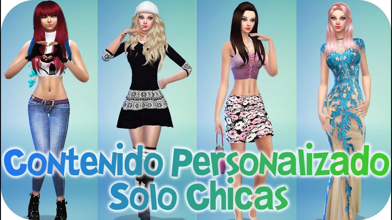 Contenido personalizado para chicas sims 4 reah mods for Mods sims 4 muebles