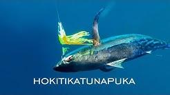 TUNA fishing NEW ZEALAND in the Hokitika Trench, deep water offshore fishing
