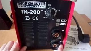 ремонт зварювального апарату workmaster in 200, не включається.