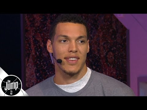 [The Jump] Extremely good looking Aaron Gordon wants to face Zach LaVine, Zion & Donovan Mitchell in the NBA Dunk Contest
