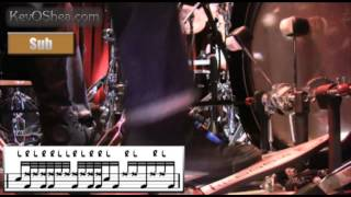 Free Drum Lessons   Tony Royster Jr & Dennis Chambers Notation