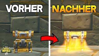 Fortnite GLITCH: Open the same TRUHE 2x! Double crates in Fortnite [ENGLISH]