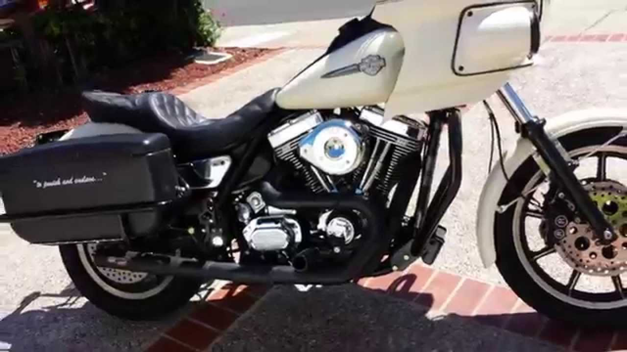 1991 FXRP SS 111 Baker OD6 FXDP bags  RB Racing frame off build  YouTube