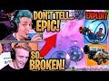 """Download Ninja & Streamers Show *NEW* Overpowered """"FLY"""" Trick with the New Baller and Cannon! - Fortnite"""