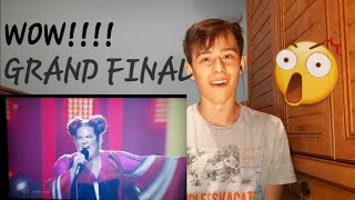 Reaction on Winner Eurovision 2018  Netta Barzilai  - Toy - Israel - LIVE (Grand Final)