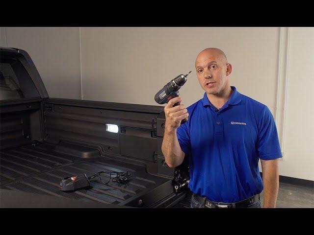 2018 Honda Ridgeline Tips & Tricks: How to Charge Power Tools