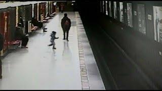 إيطاليا: إنقاذ طفل صغير في ميلانو قبل دقيقة من وصول القطار