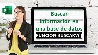 Buscar información en una base de datos en Excel, Función: BUSCARV  SMARTpro Academy