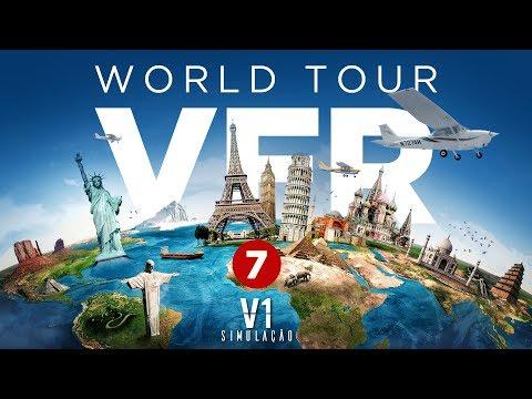 [P3D V3 ] PA-28 | VFR World Tour / Granadines - Ep. 7
