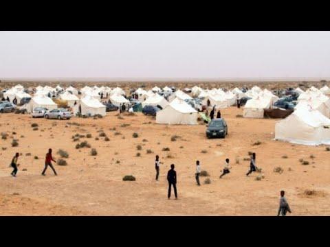 النازحون من تاورغاء الليبية تحت رحمة الصحراء والعقارب والثعابين