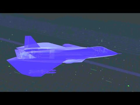Raytheon - 6th Generation Hypersonic Stealth Fighter Concept Unveiled [1080p]