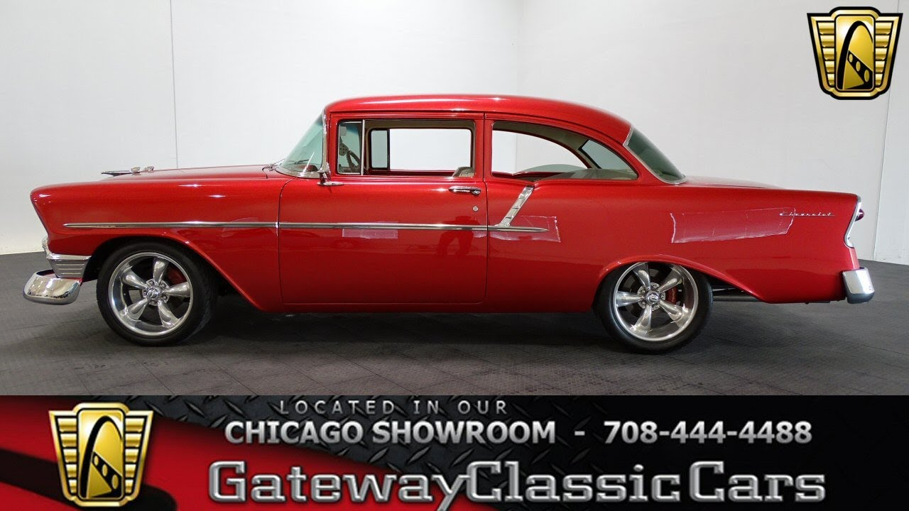 1956 Chevrolet 150 Gateway Classic Cars Chicago #1235 - YouTube